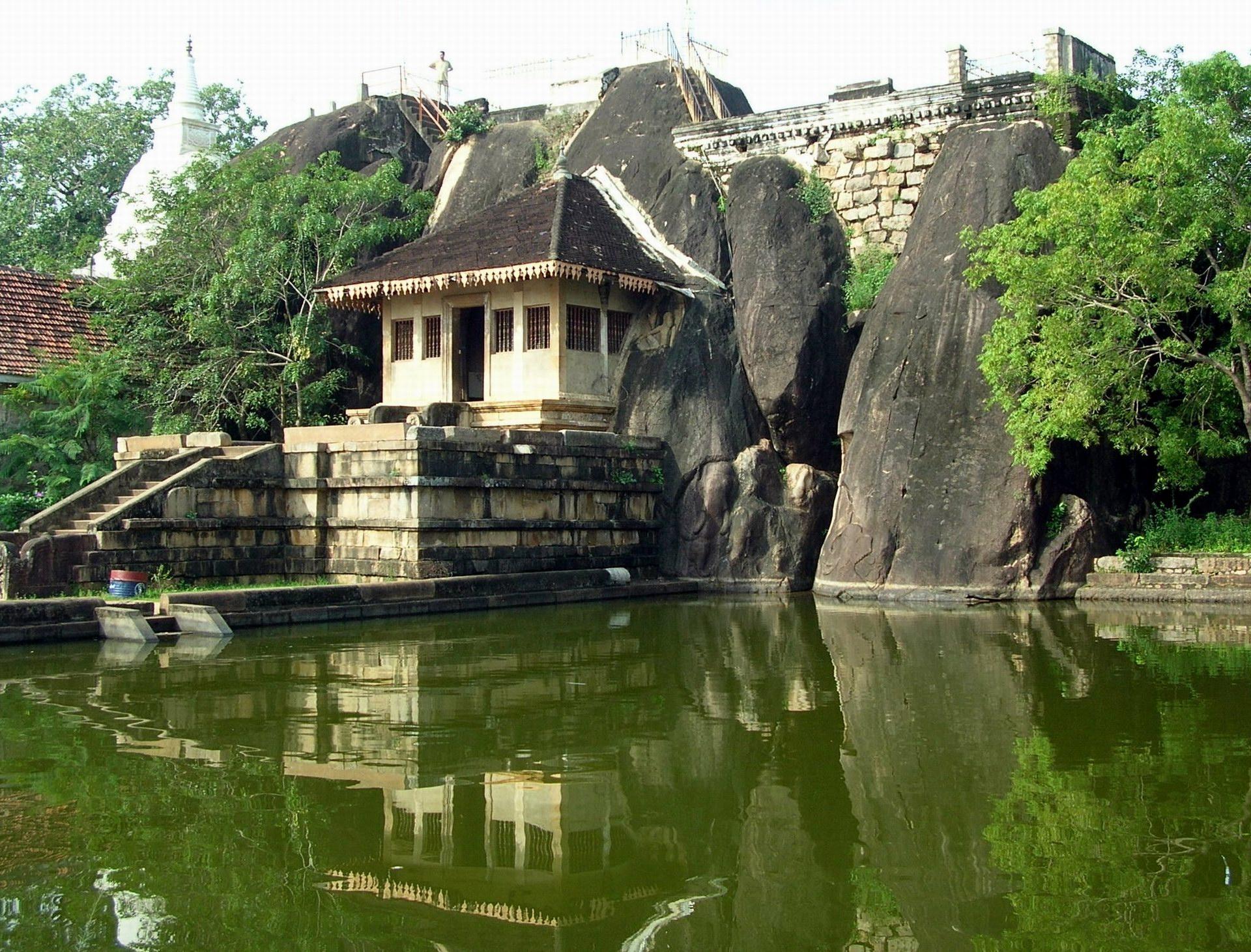 Isurumuniya Temple Anuradhapura Sri Lanka Sri Lanka